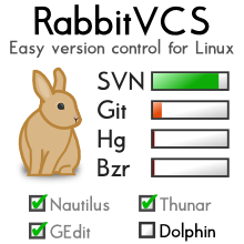 RabbitVCS - Git on board